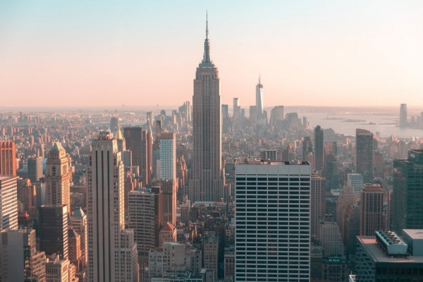Skyline Photo of Empire State Building in New York City