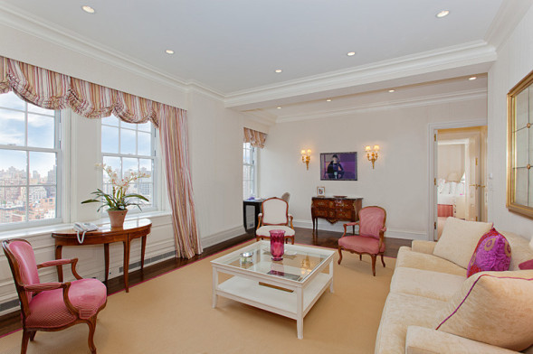 Interior of the new apartment bought by Richard and Kathy Hilton