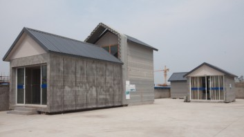 3D-printed Houses Put Into Use In Shanghai