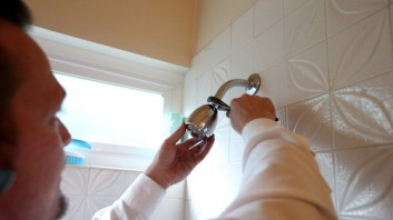 Plumber Install Water Saving Devices In Home
