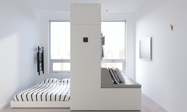 By IKEA And Ori New Robotic Furniture For Small Spaces