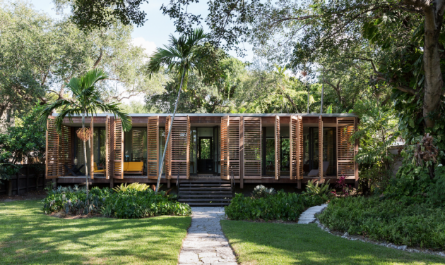 Miami's Exotic Marvel, Hits Market For $2 Million, The Brillhart House